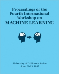 Cover image for Proceedings of the Fourth International Workshop on MACHINE LEARNING