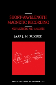 Cover image for Short-Wavelength Magnetic Recording