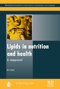 Lipids in Nutrition and Health - 1st Edition - ISBN: 9780953194919, 9780857097989