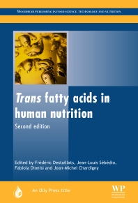 Cover image for Trans Fatty Acids in Human Nutrition