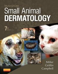 Muller and Kirk's Small Animal Dermatology, 7th Edition,William Miller,Craig Griffin,Karen Campbell,ISBN9781416000280