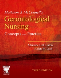 Cover image for Matteson & McConnell's Gerontological Nursing