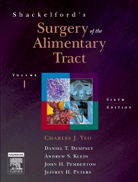 Shackelford's Surgery of the Alimentary Tract with CD-ROM