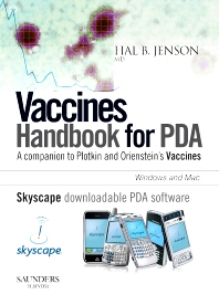 Vaccines Handbook for PDA - Skyscape software available for download to your mobile device: Amaray Case