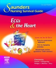 Cover image for Saunders Nursing Survival Guide: ECGs and the Heart