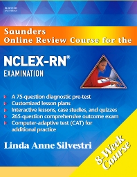 Saunders Online Review Course for the NCLEX-RN® Examination (8 Week Course) Revised Reprint