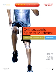 DeLee & Drez's Orthopaedic Sports Medicine - 3rd Edition - ISBN: 9781455708574