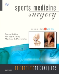 Cover image for Operative Techniques: Sports Medicine Surgery