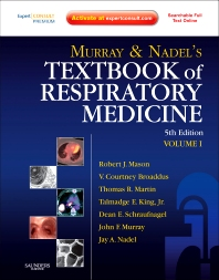 Murray and Nadel's Textbook of Respiratory Medicine - 5th Edition - ISBN: 9781455708734