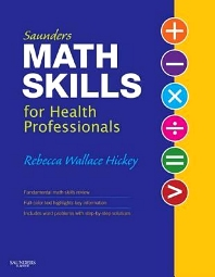 Cover image for Saunders Math Skills for Health Professionals