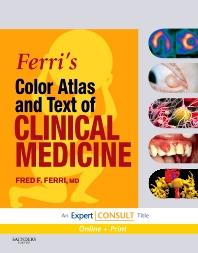 Cover image for Ferri's Color Atlas and Text of Clinical Medicine