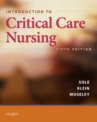 Introduction to Critical Care Nursing - 5th Edition - ISBN: 9781455736010