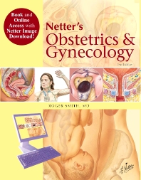 Cover image for Netter's Obstetrics and Gynecology, Book and Online Access at www.NetterReference.com