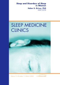 Cover image for Sleep and Disorders of Sleep in Women, An Issue of Sleep Medicine Clinics