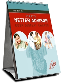 Ferri's Netter Advisor Desk Display Charts - 1st Edition - ISBN: 9781416060390