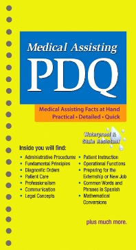 Medical Assisting PDQ - 1st Edition - ISBN: 9781455736201