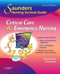 Cover image for Saunders Nursing Survival Guide: Critical Care & Emergency Nursing