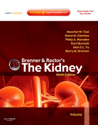 Brenner and Rector's The Kidney, 9th Edition,Maarten Taal,Glenn Chertow,Philip Marsden,Karl Skorecki,Alan Yu,Barry Brenner,ISBN9781416061939