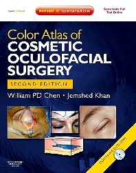 Cover image for Color Atlas of Cosmetic Oculofacial Surgery with DVD