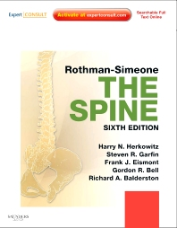 Rothman-Simeone The Spine - 6th Edition - ISBN: 9781416067269, 9780323246859