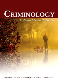 Criminology - 7th Edition - ISBN: 9781422463321, 9781437778953