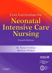 Core Curriculum for Neonatal Intensive Care Nursing - 4th Edition - ISBN: 9781437702606, 9781437725995