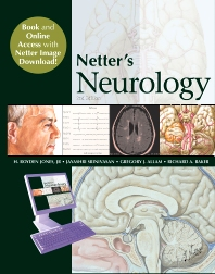 Cover image for Netter's Neurology, Book and Online Access at www.NetterReference.com
