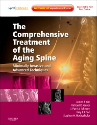 Cover image for The Comprehensive Treatment of the Aging Spine