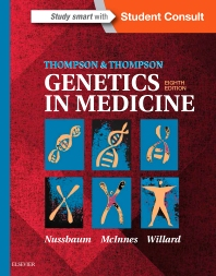 Cover image for Thompson & Thompson Genetics in Medicine