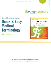 Medical Terminology Online for Quick & Easy Medical Terminology (User Guide and Access Code)