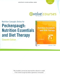 Nutrition Concepts Online for Peckenpaugh: Nutrition Essentials and Diet Therapy (User Guide and Access Code) - 11th Edition - ISBN: 9781437709179