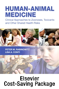 Human-Animal Medicine - Text and VETERINARY CONSULT Package
