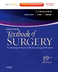 Sabiston Textbook of Surgery, 19th Edition,Courtney Townsend,R. Daniel Beauchamp,B. Mark Evers,Kenneth Mattox,ISBN9781437715606