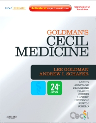 Goldman's Cecil Medicine - 24th Edition - ISBN: 9781437716047, 9781437736083