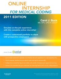 Online Internship for Medical Coding 2011 Edition (User Guide & Access Code)