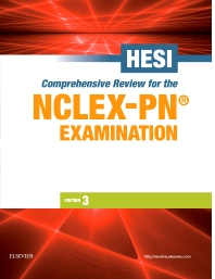 HESI Comprehensive Review for the NCLEX-PN®  Examination - 3rd Edition - ISBN: 9781455758081