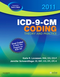 Cover image for 2011 ICD-9-CM Coding Theory and Practice with ICD-10