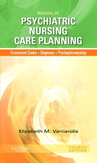 Cover image for Manual of Psychiatric Nursing Care Planning