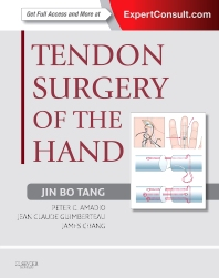 Tendon Surgery of the Hand - 1st Edition - ISBN: 9781437722307, 9780323249096