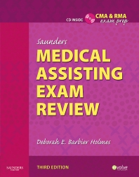 Cover image for Saunders Medical Assisting Exam Review