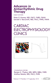 Cover image for Advances in Antiarrhythmic Drug Therapy, An Issue of Cardiac Electrophysiology Clinics