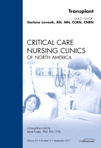 Cover image for Transplant, An Issue of Critical Care Nursing Clinics