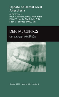 Cover image for Update of Dental Local Anesthesia, An Issue of Dental Clinics