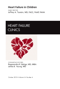 Cover image for Heart Failure in Children, An Issue of Heart Failure Clinics