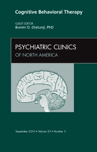 Cover image for Cognitive Behavioral Therapy, An Issue of Psychiatric Clinics