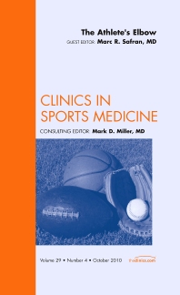 Cover image for The Athlete's Elbow, An Issue of Clinics in Sports Medicine