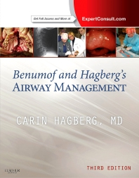 Benumof and Hagberg's Airway Management - 3rd Edition - ISBN: 9781437727647, 9781455738106