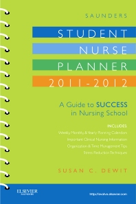 Saunders Student Nurse Planner, 2011-2012