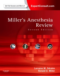 Miller's Anesthesia Review - 2nd Edition - ISBN: 9781437727937, 9781455738250