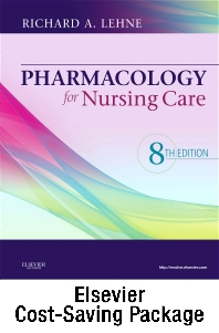 Cover image for Pharmacology for Nursing Care - Text and Study Guide Package